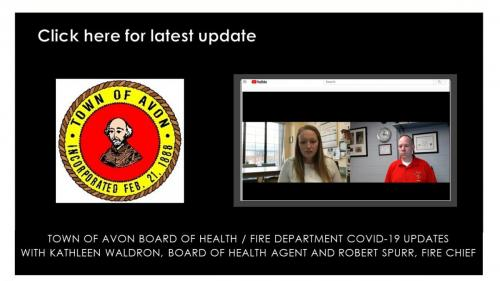 Board of Health and Fire Department updates