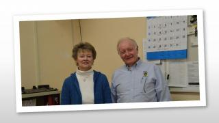 Image of Susan Monahan, Administrative Assistant and Robert Borden, Building Inspector