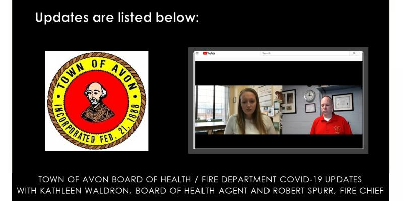 Board of Health and Fire Department COVID-19 Updates