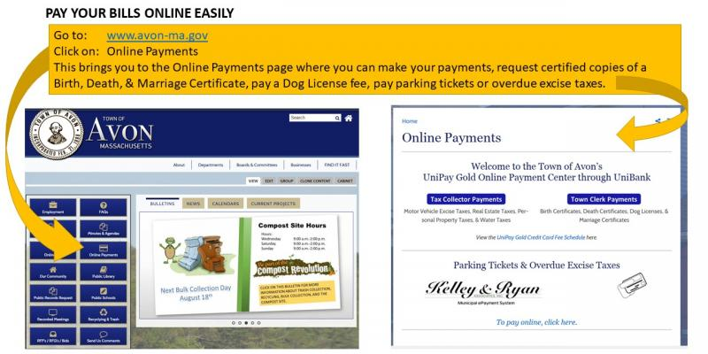 Pay your bills online easily