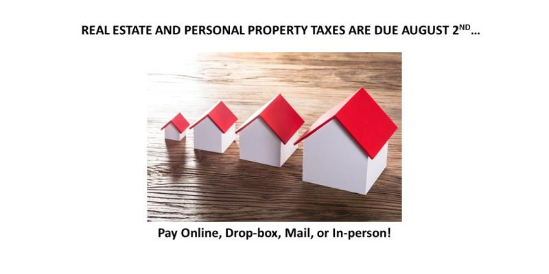 Real Estate and Personal Property Taxes
